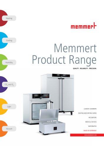 Memmert Product Range