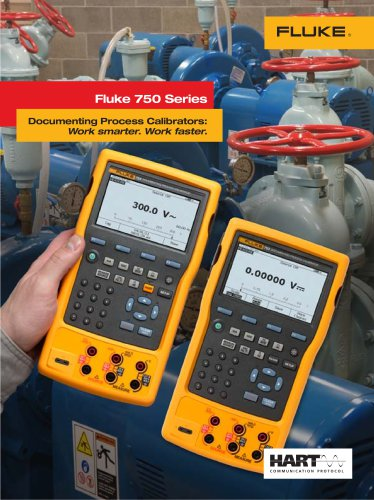 Fluke 750 series brochure