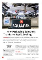 New Packaging Solutions Thanks to Rapid Cooling