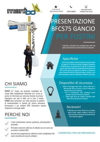 BILANCIATORE BFCS75 - GANCIO PER FUSTI