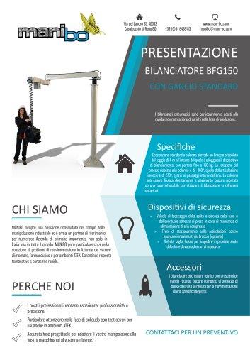 BILANCIATORE BFG150 - GANCIO STANDARD
