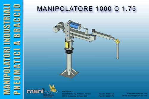 Manipolatore industriale a braccio MANIBO 1000 kg