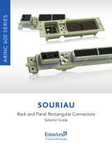 ARINC 600 (SB 600) Rack and Panel Rectangular Connectors