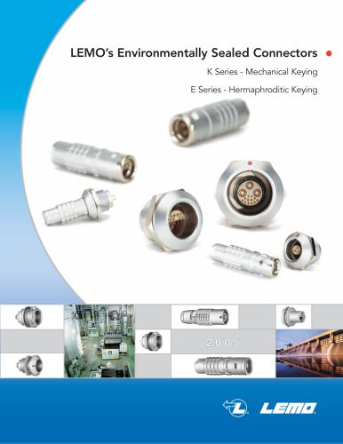 Lemo's Environmentally Sealed Connectors