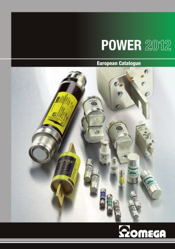 EUROPEAN CATALOGUE 2012 - POWER