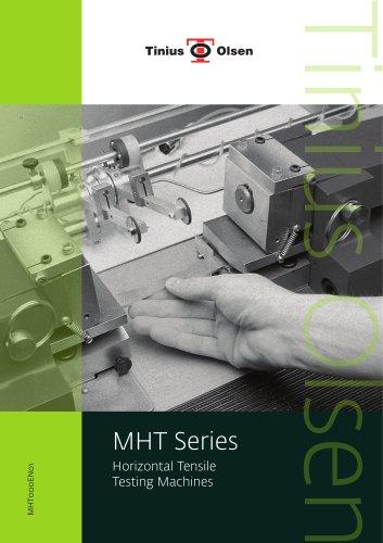 MHT Series - Horizontal Tensile Testing Machines from Tinius Olsen