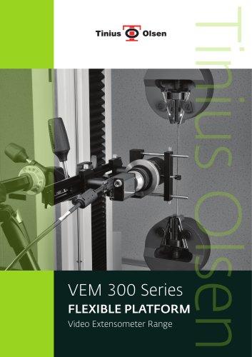 VEM 300 Series - FLEXIBLE PLATFORM Video Extensometer Range from Tinius Olsen