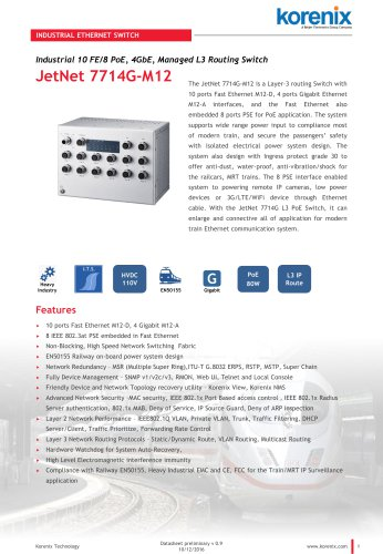JetNet 7714G-M12 HVDC