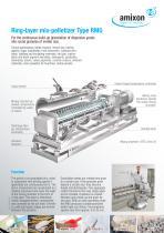 Ring-layer mix-pelletizer Type RMG