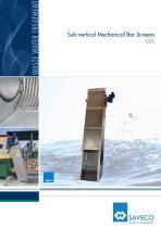 Sub-vertical Mechanical Bar Screens GVL