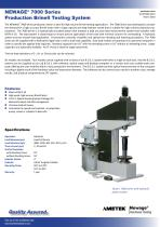 7000 Series Production Brinell Hardness Tester