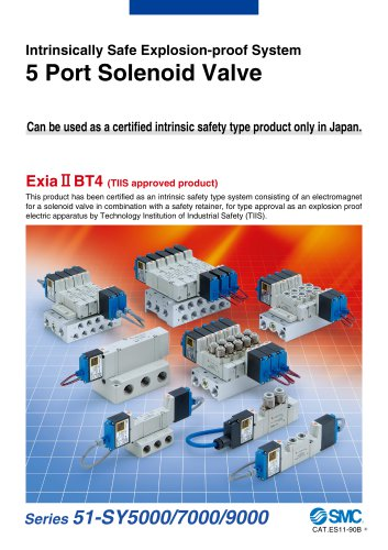 Intrinsically Safe Explosion-proof System 5 Port Solenoid Valve 51-SY