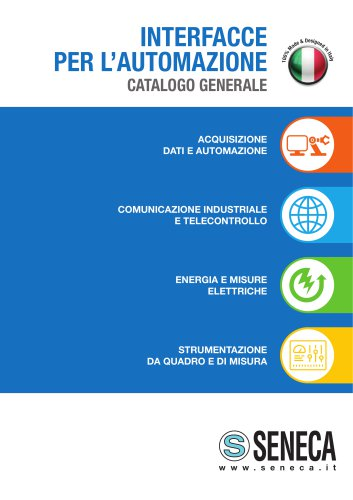 INTERFACCE PER L'AUTOMAZIONE CATALOGO GENERALE