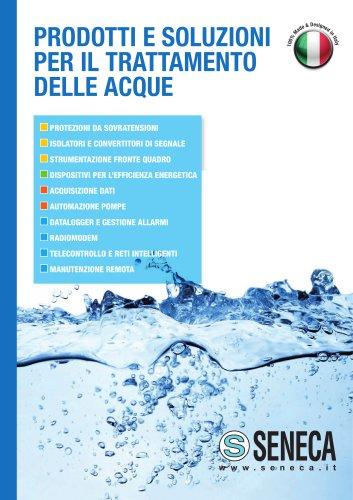 Prodotti e soluzioni per il trattamento delle acque