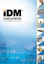 IDM instruments TESTING INSTRUMENTS FOR THE FUTURE