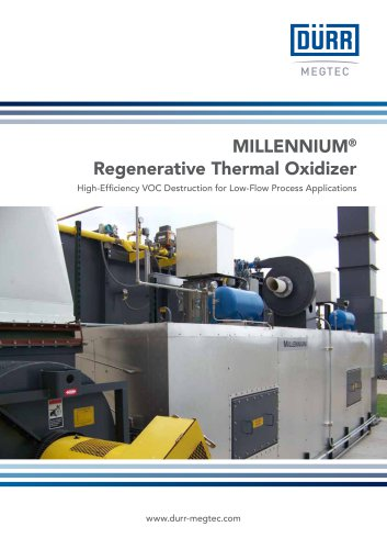 MILLENNIUM® Regenerative Thermal Oxidizer