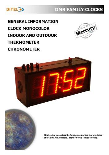 CATALOGUE CLOCKS