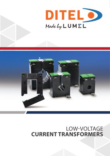 LOW-VOLTAGE CURRENT TRANSFORMERS