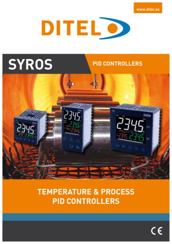 TEMPERATURE & PROCESS PID CONTROLLERS