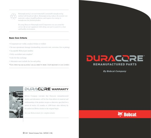 Duracore Electrical Brochure