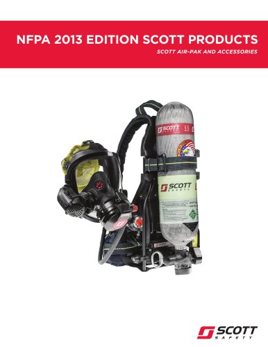 NFPA 2013 Edition Scott Products