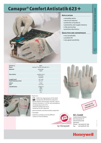Camapur® Comfort Antistatik 623+
