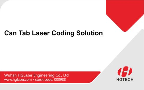 Can Tab Laser Coding Solution