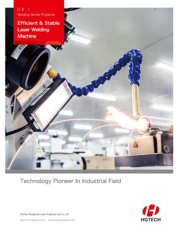 Efficient & Stable Laser Welding Machine