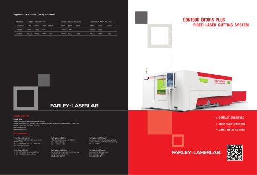 Farley Laserlab DF3015 PLUS laser cutting machine