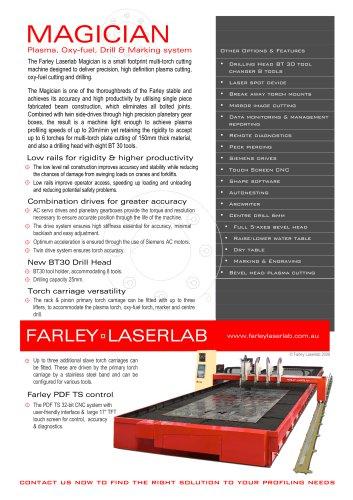 Farley Laserlab Magician Brochure