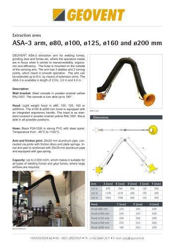 ASA-3 Arm