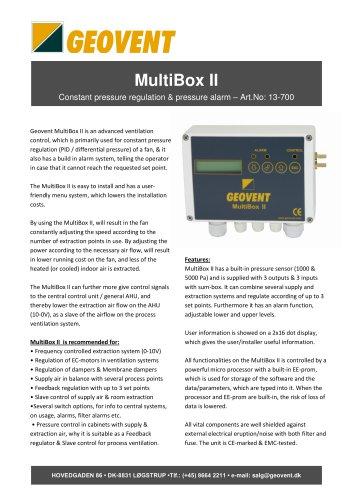 MultiBox II
