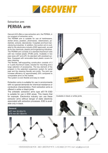 PERMA arm