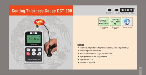 Coating Thickness Gauge DCT-200
