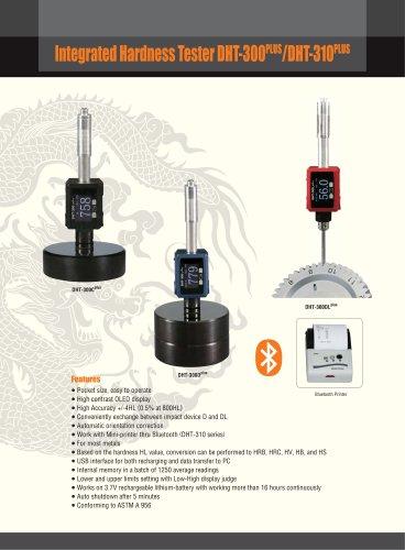 Leeb Hardness Tester/Portable/Digital OLED Display/Auto impact direction identification/ Bluetooth printer/DHT-300plus/DHT-310plus