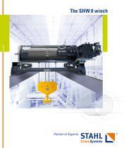 The SHW 8 winch - modular, flexible, powerful