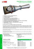 Venturi-flowmeter EVR2000
