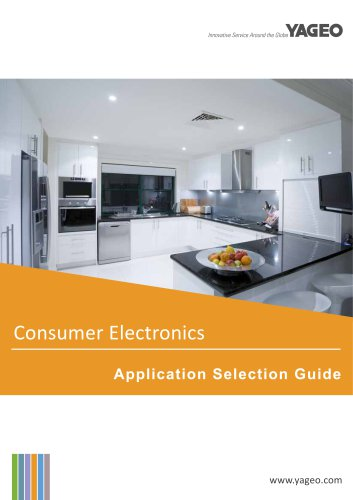 ElectronicComponents for Consumer Electronics Applications