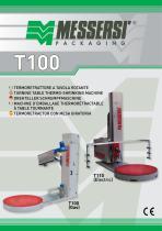 T100/T110 termoretrattore a tavola rotante