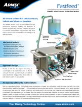 Fastfeed Powder Induction and Dispersion System