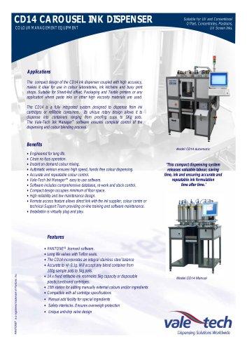 CD14 - Carousel Ink Dispenser