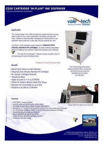 CD20 - Cartridge Fed Ink Dispenser