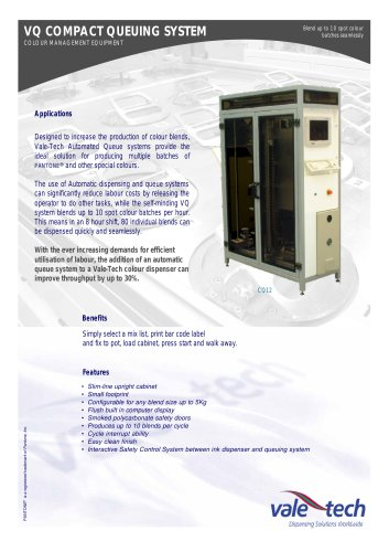VQ COMPACT QUEUING SYSTEM
