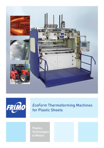 EcoForm Thermoforming Machines for Plastic Sheets