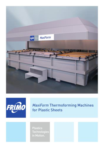 MaxiForm Thermoforming Machines for Plastic Sheets