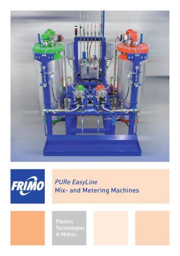 PURe EasyLine Mix- and Metering Machines
