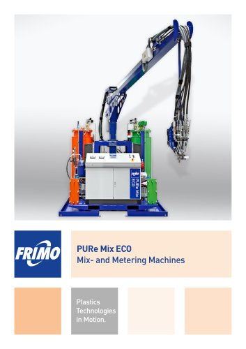 PURe Mix ECO Mix- and Metering Machines