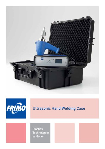 Ultrasonic Hand Welding Case