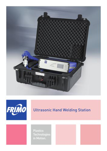 Ultrasonic Hand Welding Station