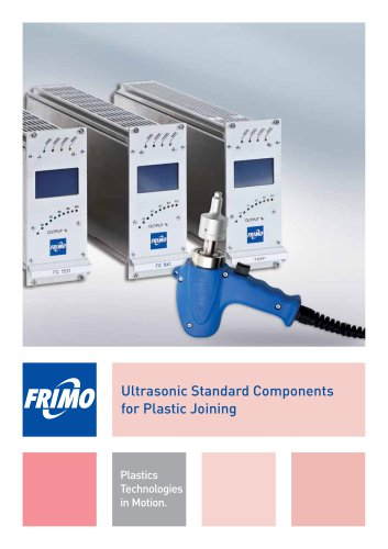 Ultrasonic Standard Components for Plastic Joining
